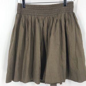 Banana Republic petite taupe skirt